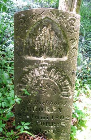 Head Stone from Grave Yard